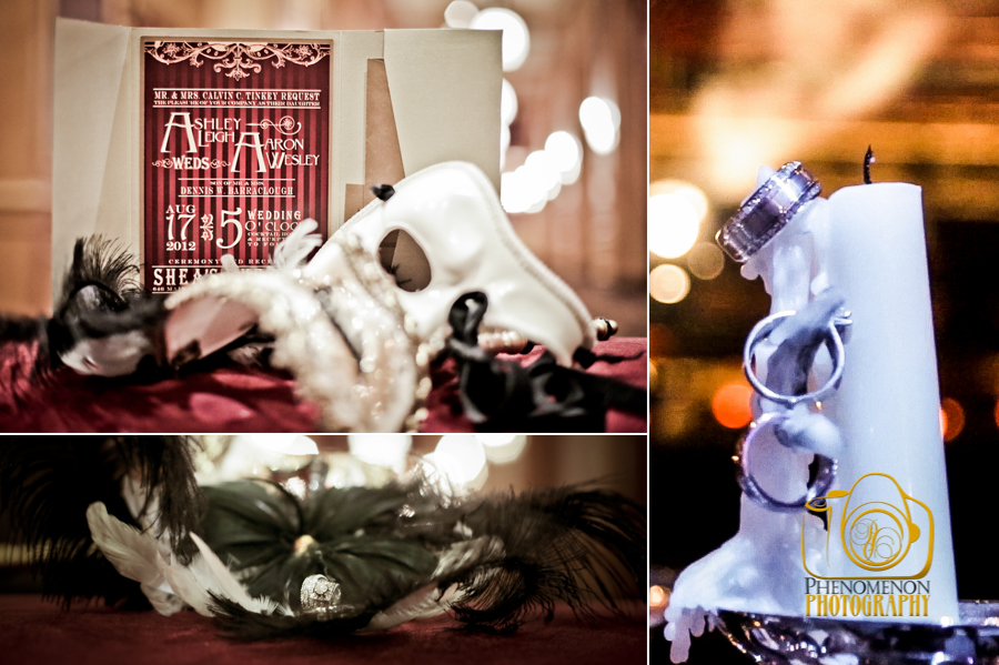 Phantom Of The Opera Themed Wedding Phenomenon Buffalo Wedding