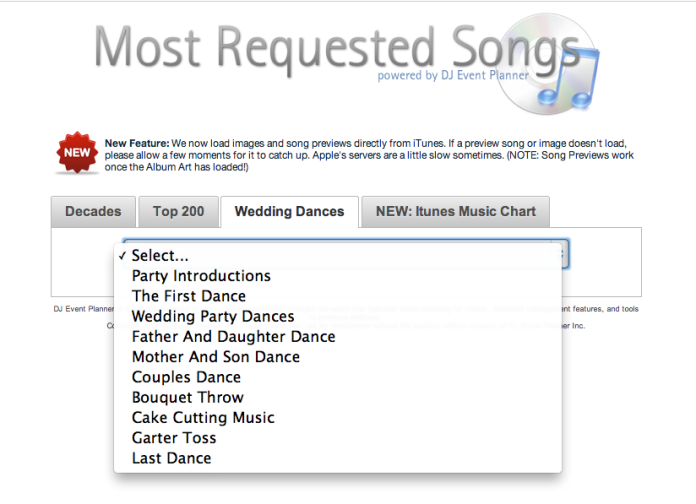 how to find songs for your wedding buffalo wedding dj