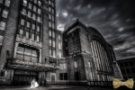 The Central Terminal in Buffalo for wedding photography